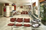 Waiting room at railway station