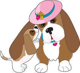 Basset Talk Mom