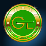 Greengoldbutton green line