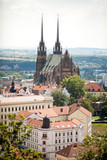 The Cathedral in Brno, Czech Republic.