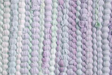 purple cloth material stripes