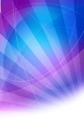 blue purple lined graphic