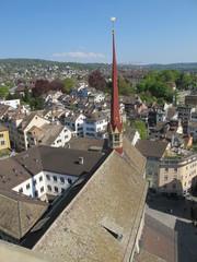 Zürich, Blick vom Grossmünster