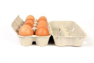 Zehn Eier