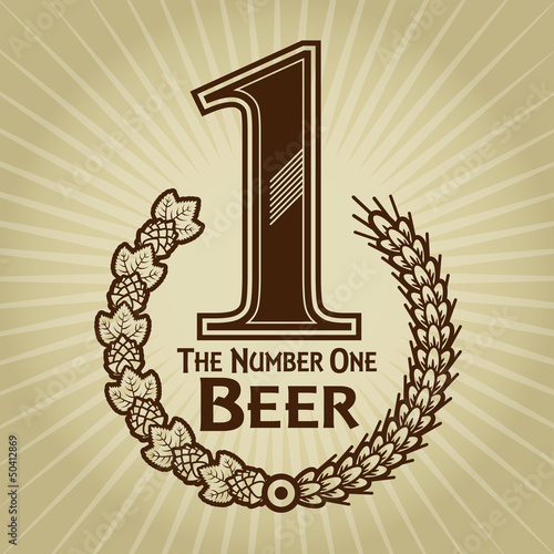 The Number One Beer Seal / Mark