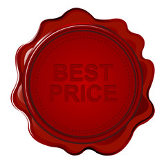 Wax seal with text Best price