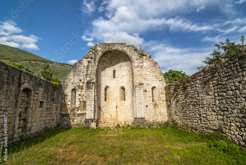 Ruins of church in Umbria