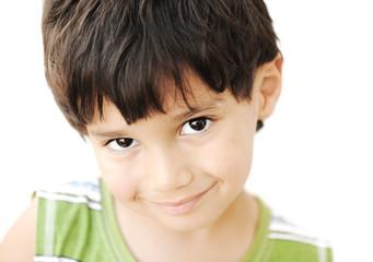 Adorable kid portrait