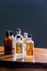 Vintage medicine bottle - Camphorated Oil