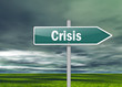 "Signpost ""Crisis"""