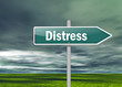 "Signpost ""Distress"""