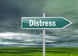 "Signpost ""Distress"""