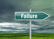 "Signpost ""Failure"""