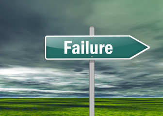 "Signpost ""Failure"""