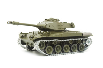 U.S. Bulldog tank model on white background