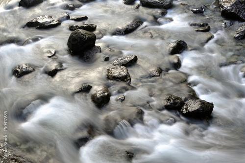 Fototapeten,fluß,golden,steine,steine