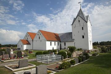 St. Clemens Kirche in Kirkeby, Dänemark