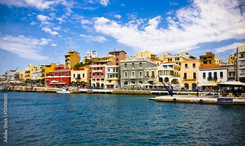 Agios Nikolaos - Crete in Greece
