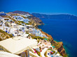 Amazing view on Santorini