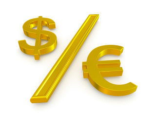 dollar and the euro