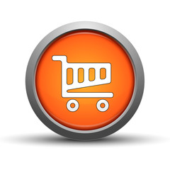 Shopping cart icon web