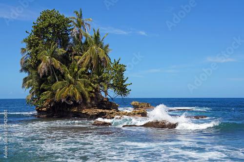 Fototapeten,tropisch,insel,inselchen,ozean
