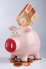 Porquinho da poupança