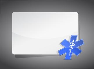 medical sign presentation board