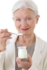 Femme senior - Laitages