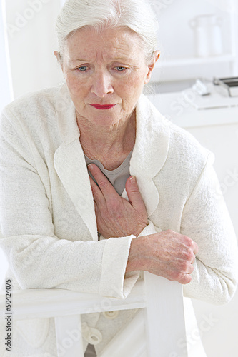 Femme - Malaise cardiaque