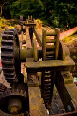 Zahnräder vom Wasserwerk Waiblingen