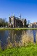 View on church, Alkmaar town, Holland, the Netherlands