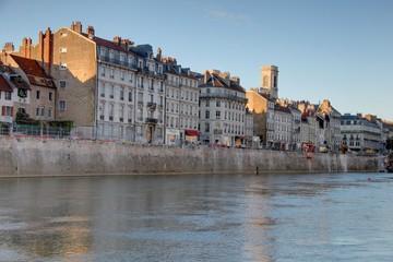 Besançon, bords du Doubs