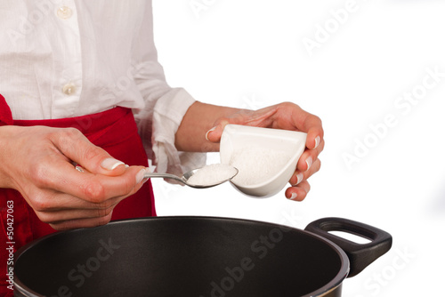 A spoonful of salt