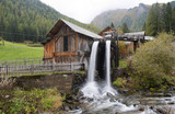 Water mill in South Tyrol