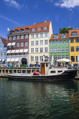 Nyhavn port in Copenhagen