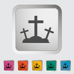 Calvary single icon.