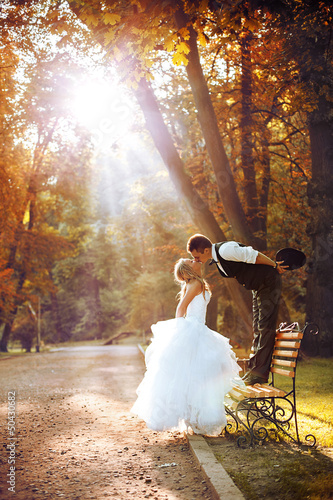 European bride and groom - 50430682