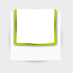 post it green