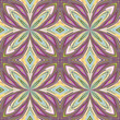 Fancy  floral pattern from Asia, seamless