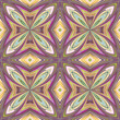 Contemporary floral pattern from Asia, seamless