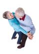 Portrait Of Senior Couple Dancing