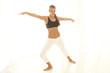 kris,bras levés,yoga