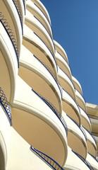 Balcones de un edificio