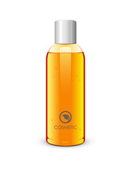 Bottle Of Gel Orange: Vector Version