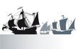 Постер, плакат: Die Schiffe von Christoph Kolumbus