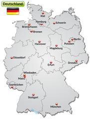 Bundeslandgrenzen Deutschland