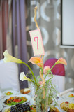 Calla Bouquet on Table