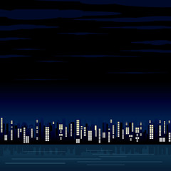 Abstract City Night