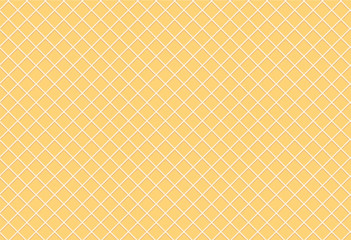 Vector seamless pattern of texture for waffles